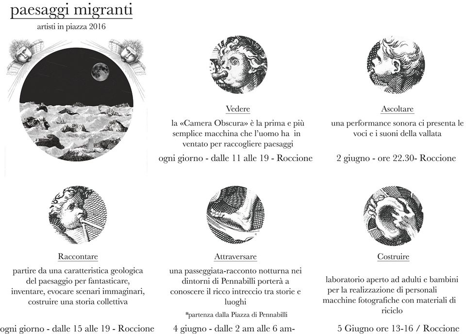 Paesaggi migranti ad Artisti in Piazza