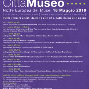 Notte europea dei Musei 2019
