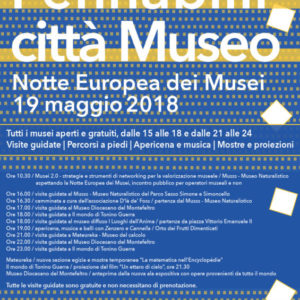 Notte Europea dei Musei 2018